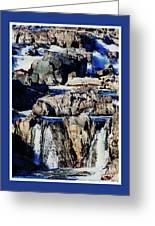 Great Falls Of The Potomac Greeting Card
