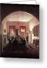 Jlm-1820-henry Sargent-the Dinner Party 782x1024 Henry Sargent Greeting Card