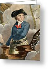 John Paul Jones, 1747-1792 Greeting Card