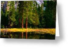 Landscape Poster Greeting Card