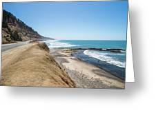 Pacific Ocean Big Sur Coatal Beaches And Landscapes Greeting Card