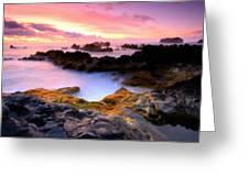 Scenery Oil Paintings On Canvas Greeting Card