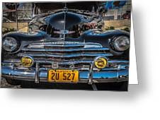 Sf Low Riders Greeting Card