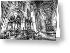 Southwark Cathedral London Greeting Card