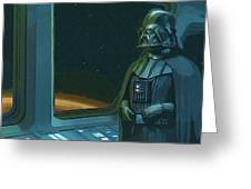 Star Wars The Poster Greeting Card