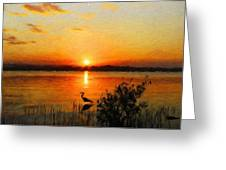 Landscape Art Nature Greeting Card
