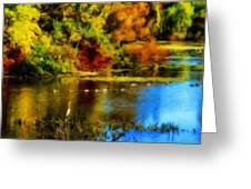 Nature Art Landscape Greeting Card