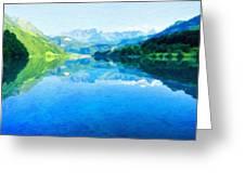 Nature Landscape Artwork Greeting Card