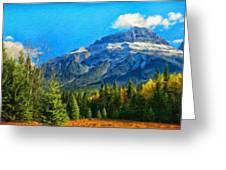 Nature Landscape Painting Greeting Card