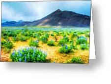Landscape Art Nature Greeting Card