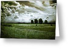 Landscape Oil Painting Nature Greeting Card