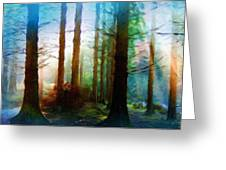 A Landscape Nature Greeting Card