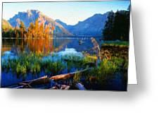 Landscape Paintings Canvas Prints Nature Art  Greeting Card
