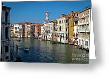 1399 Venice Grand Canal Greeting Card