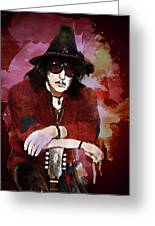 Deep Purple. Ritchie Blackmore. Greeting Card