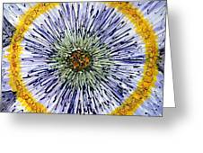 Digital Flower Painting Greeting Card