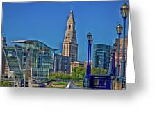 Downtown Hartford Greeting Card