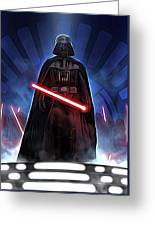 Episode 1 Star Wars Poster Greeting Card