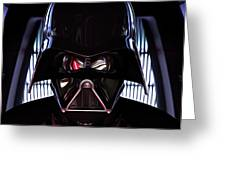 Galaxies Star Wars Art Greeting Card