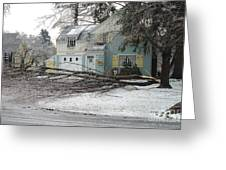 Ice Storm Greeting Card