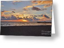 14- Juno Beach Pier Greeting Card