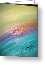 Original Abstract Masterpiece Greeting Card