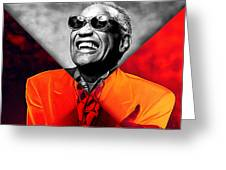 Ray Charles Collection Greeting Card