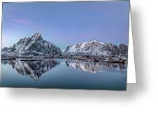 Reine, Lofoten - Norway Greeting Card