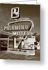 Route 66 - Tucumcari New Mexico Greeting Card