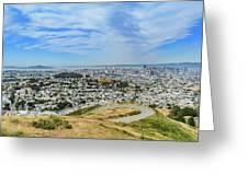 San Francisco Skyline  Greeting Card