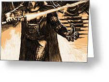 Star Wars Characters Poster Greeting Card