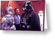 Star Wars Episode 1 Poster Greeting Card