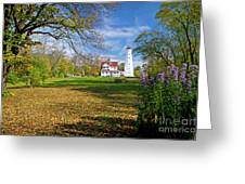 1406 North Point Lighthouse Greeting Card