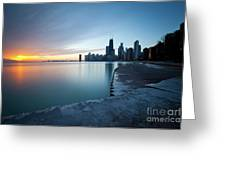 1415 Chicago Greeting Card