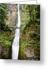 1416 Multnomah Falls Greeting Card