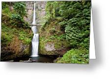 1417 Multnomah Falls Greeting Card