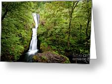 1418 Bridal Veil Falls Greeting Card