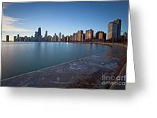 1420 Chicago Greeting Card