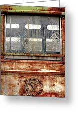 1449 Illinois Trolley Museum Greeting Card