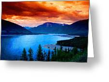 Types Of Landscape Nature Greeting Card