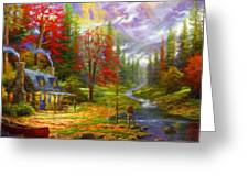 Nature Landscape Nature Greeting Card