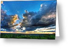 Art Landscape Nature  Greeting Card