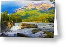 Nature Landscape Oil Greeting Card