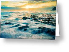 Nature Painted Landscape Greeting Card