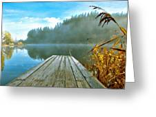 Acrylic Landscape Painting Greeting Card