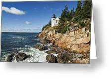 Bass Harbor Lighthouse Greeting Card