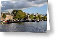 Canals Of Amsterdam Greeting Card