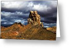 Capitol Reef National Park Catherdal Valley Greeting Card