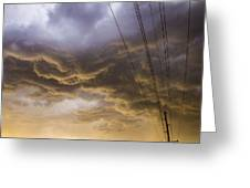 First Nebraska Storm Chase 2015 Greeting Card