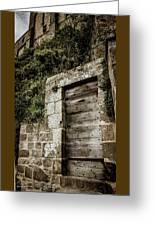 Le Mont Saint Michel Greeting Card